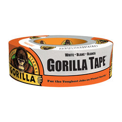 Gorilla  1.88 in. W x 30 yd. L White  Duct Tape