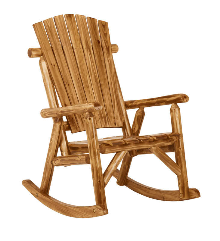 Jack-Post  Northwood  Wood  Log Rocker Chair  Northwoods