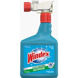 Windex  No Scent Outdoor Glass Cleaner  32 oz. Liquid