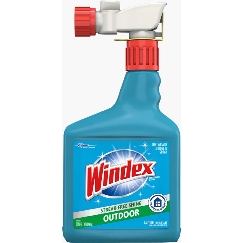 Windex No Scent Outdoor Glass Cleaner 32 Oz Liquid