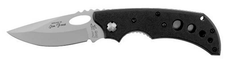 Frost Cutlery  Black Attack  Black  Stainless Steel  8 in. Pocket Knife