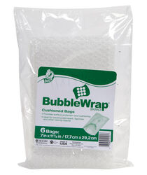 Duck  7 in. W x 11-1/2 in. L Bubble Bags
