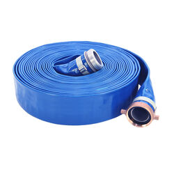 Abbott Rubber PVC Discharge Hose 1-1/2 in. Dia. x 50 ft. L