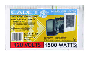 Cadet  The Com-Pak Plus  250 sq. ft. 5120 BTU Wall Heater