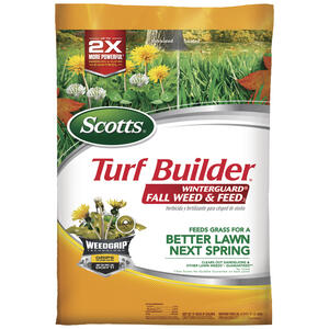 Scotts  Turf Builder Winterguard  28-0-6  Weed and Feed  For All Grass Types 15.5 lb. 5000 sq. ft.