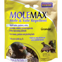 Bonide MoleMax Animal Repellent Granules For Moles and Voles 10 lb.