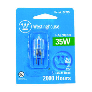Westinghouse  35 watts T4  Decorative  Halogen Bulb  600 lumens White  1 pk