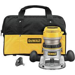 DeWalt 1.75 hp Corded Router Kit 6 in. Dia. 11 amps 24500 rpm