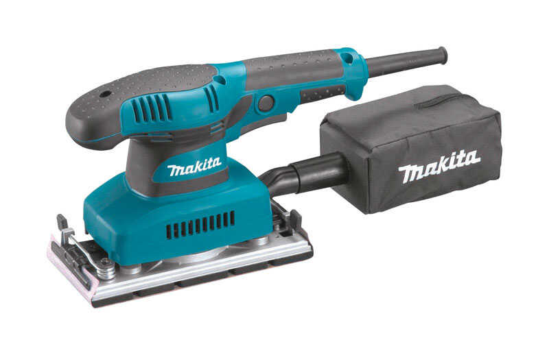 Makita  1.7 amps 120 volt Corded  1/3 Sheet  Finishing Sander  3-5/8 in. L x 7-1/4 in. W 11000 rpm