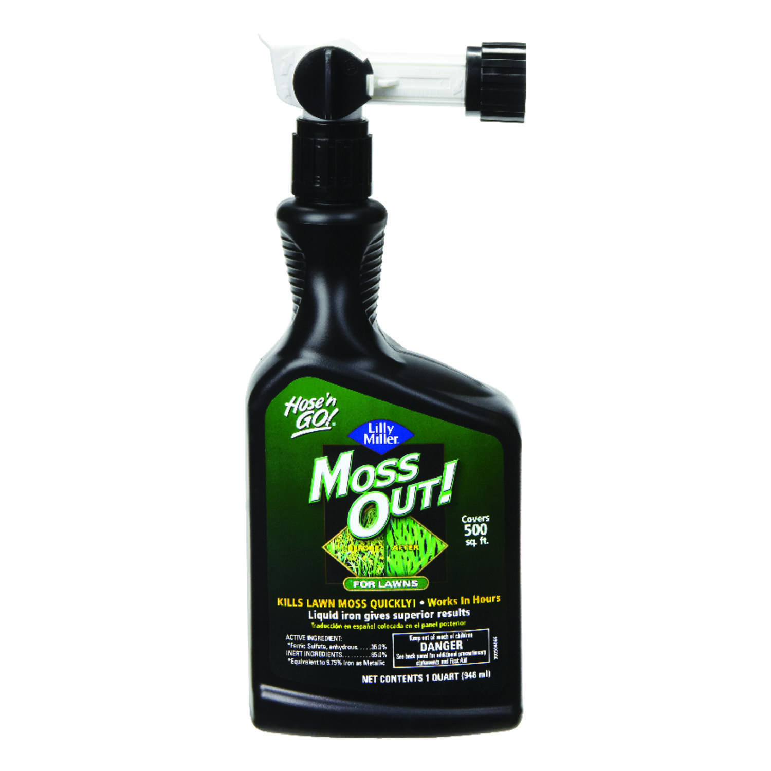 Lilly Miller  Moss Out  Moss Control  Concentrate  32 oz.