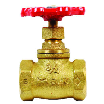 BK Products ProLine 3/4 in. FIP x 3/4 in. FIP Brass Stop Valve