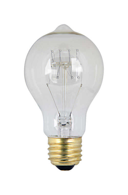 FEIT Electric  The Original  60 watts A19  Vintage  Incandescent Bulb  E26 (Medium)  Soft White  1 p