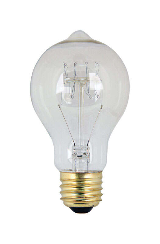 FEIT Electric  The Original  60 watts A19  Incandescent Bulb  275 lumens Soft White  Vintage  1 pk