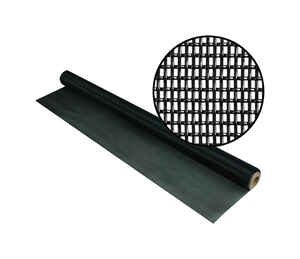 Phifer Wire  36 in. W x 7 ft. L Black  Fiberglass  Screen Cloth