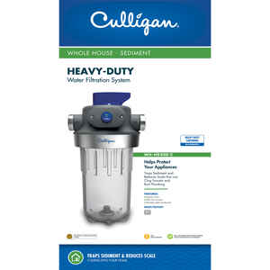 Culligan  Water Filter Housing  For Whole House 8000 gal.