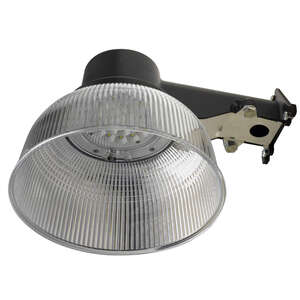 Honeywell  Aluminum  Plug-In  Bronze  Dusk to Dawn  Security Light