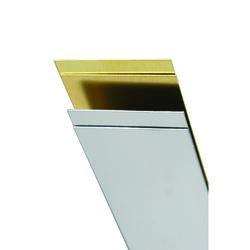 K&S 0.028 in. x 3/4 in. W x 12 in. L Stainless Steel Strip