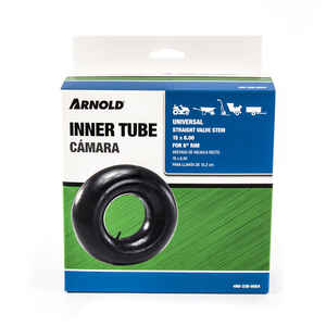 Arnold  Straight Valve  6 in. W x 15 in. Dia. Replacement Inner Tube