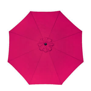 Sunline  Traditional  9 ft. Tiltable Brick  Market Umbrella