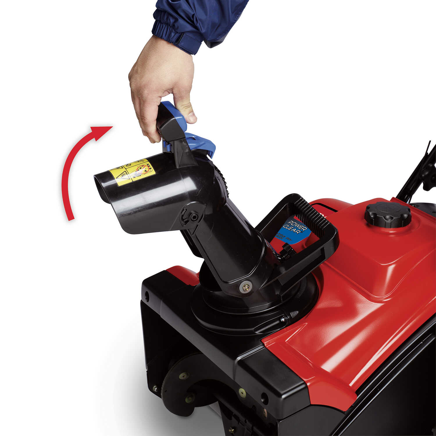 Toro  PowerClear 518  18 in. W 99 cc Single-Stage  Electric Start  Gas  Snow Blower