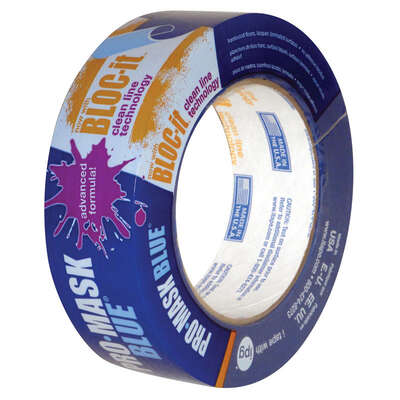 IPG Pro-Mask 1.50 in. W x 60 yd. L Blue High Strength Masking Tape 1 pk