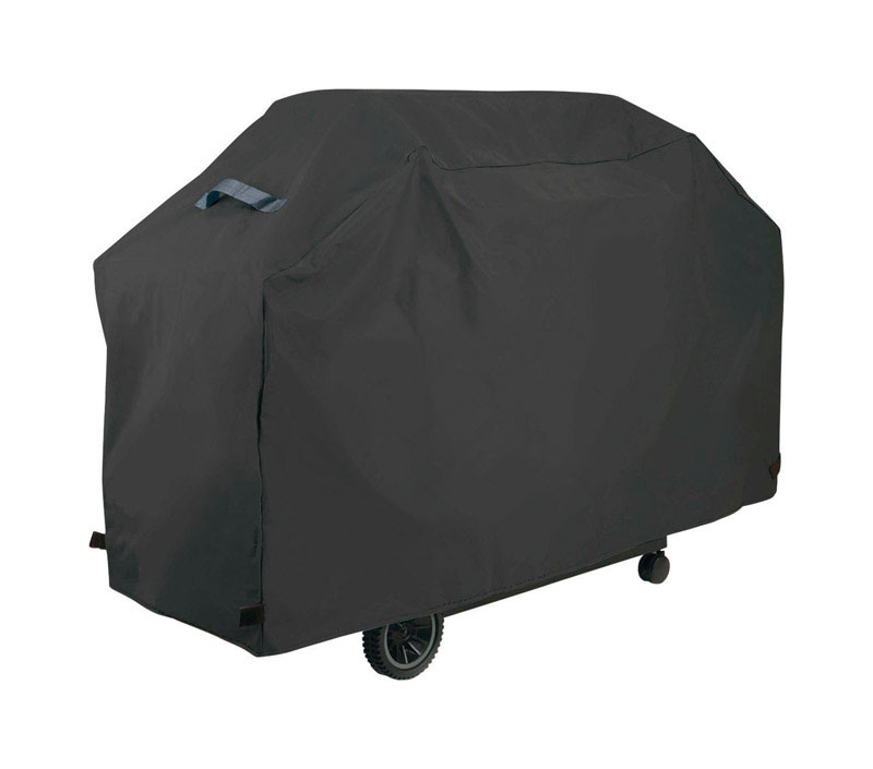 Grillmark  Black  Grill Cover  21 in. D x 40 in. H x 68 in. W For Fits PEVA Premium Grill
