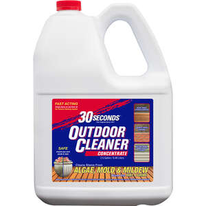 30 SECONDS  Outdoor Cleaner  Outdoor Cleaner Concentrate  2.5 Gallon