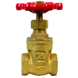 BK Products ProLine 1/4 in. FIP Brass Gate Valve Lead-Free