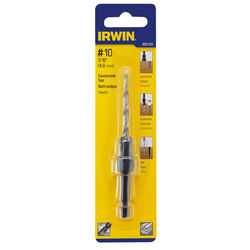 Irwin 3/16 in. Dia. High Speed Steel Countersink 1 pc.