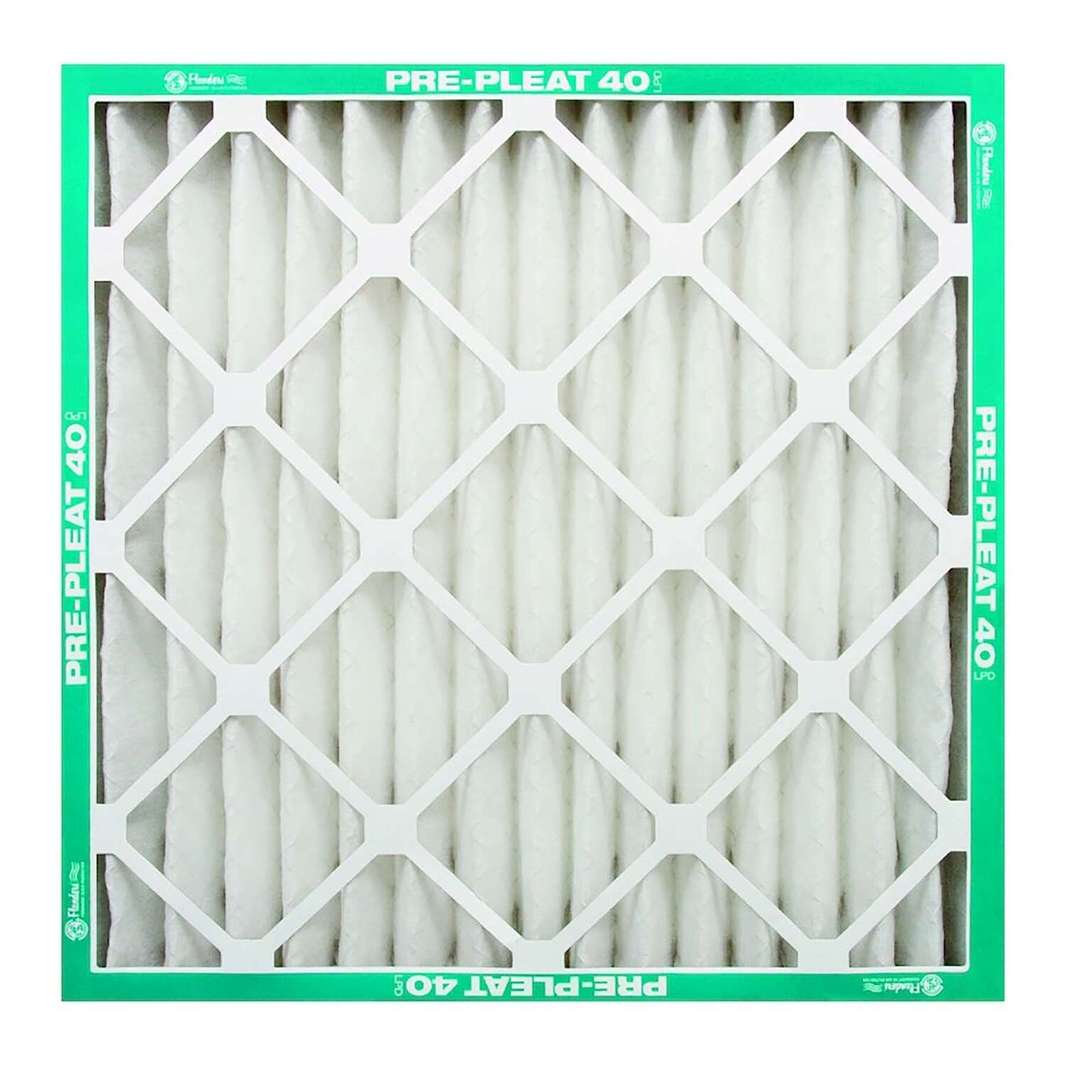 Flanders PREpleat 20 in. W x 25 in. H x 2 in. D Synthetic 8 MERV Pleated Air Filter