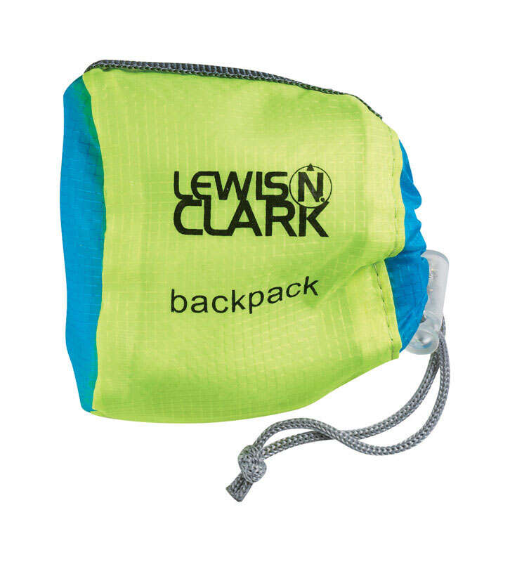 Lewis N. Clark  ElectrolLight  Collapsible  Backpack  Silnylon  1 pk