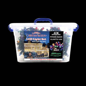 National Lampoon's  Project Pack  8mm  LED Concave  Commercial Light Set  Multicolored  85 ft. 400 l