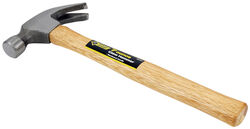 Steel Grip  7 oz. Smooth Face  Claw Hammer  Wood Handle