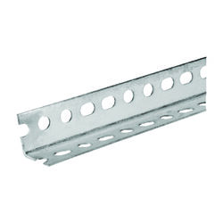 SteelWorks 1-1/2 in. W x 48 in. L Zinc Plated Steel Slotted Angle