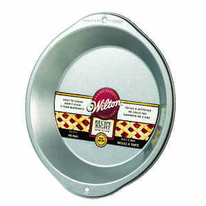 Wilton  9 in. L Pie Pan  Silver