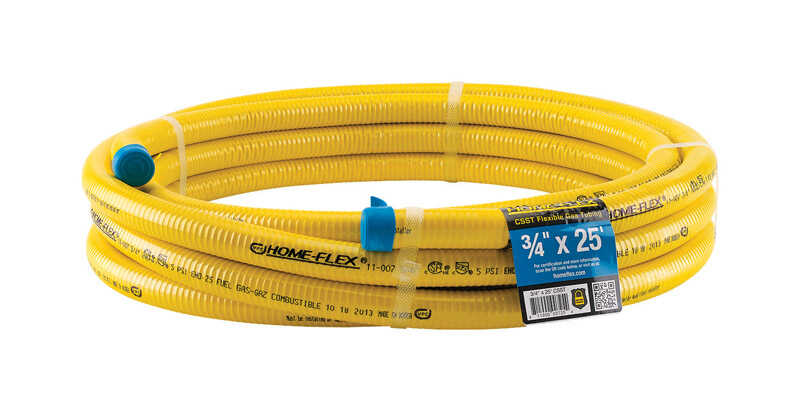 Home-Flex 3/4 in. Dia. x 25 ft. L CSST Flexible Gas Tubing - Ace ...