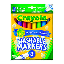 Crayola  Color Max  Assorted  Broad Tip  Markers  8 pk