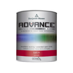 Benjamin Moore Advance Satin Base 1 Paint Interior 1 qt.