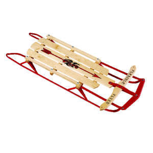 Flexible Flyer  Steel Runner Sled  Wood  Sled  48 in.