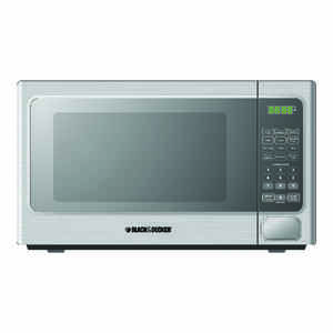 Black & Decker Microwave 1.1 cu. ft. 1,000 watts Stainless Steel/Black