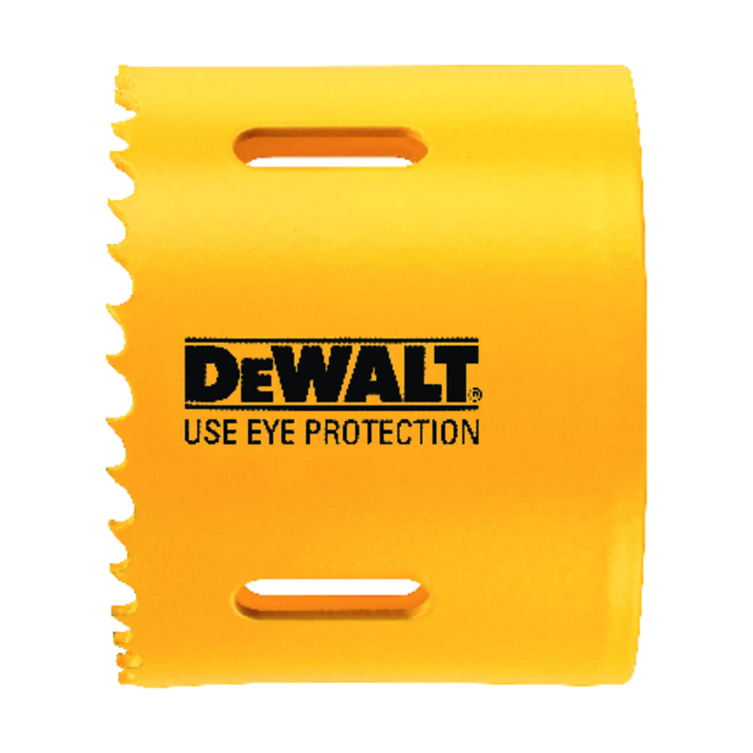 DeWalt  2-1/2 in. Dia. x 1.75 in. L Bi-Metal  Hole Saw  1/4 in. 1 pc.