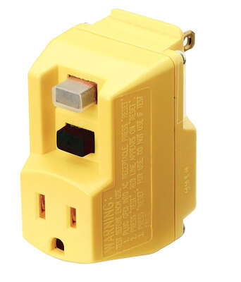 Coleman Cable  TRC  Commercial, Light Industrial, Residential  PVC  GFCI  Plug  5-15P  2 Pole 3 Wire