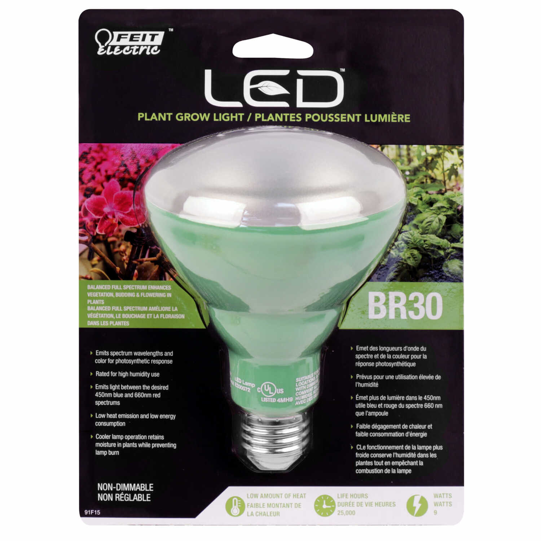 Feit Electric 9 Watts Br30 Led Bulb 560 Lumens Sunlight