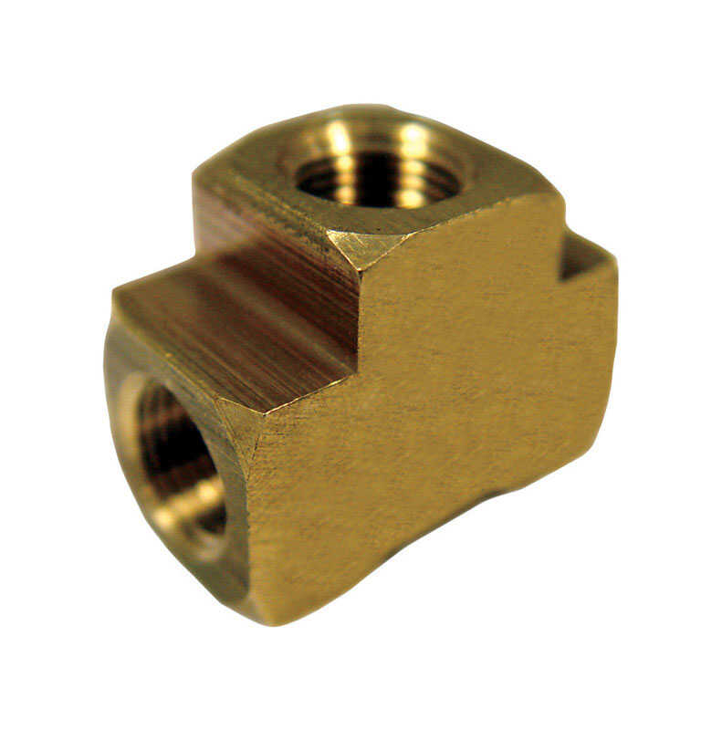 Ace  3/4 in. Dia. x 3/4 in. Dia. x 3/4 in. Dia. FPT To FPT To FPT  Yellow Brass  Tee