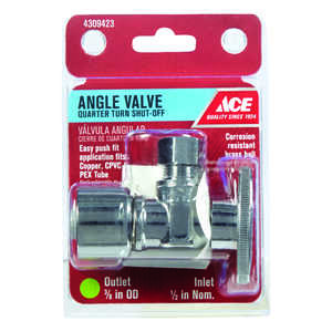 Ace  Ball  Angle Stop Valve  Brass