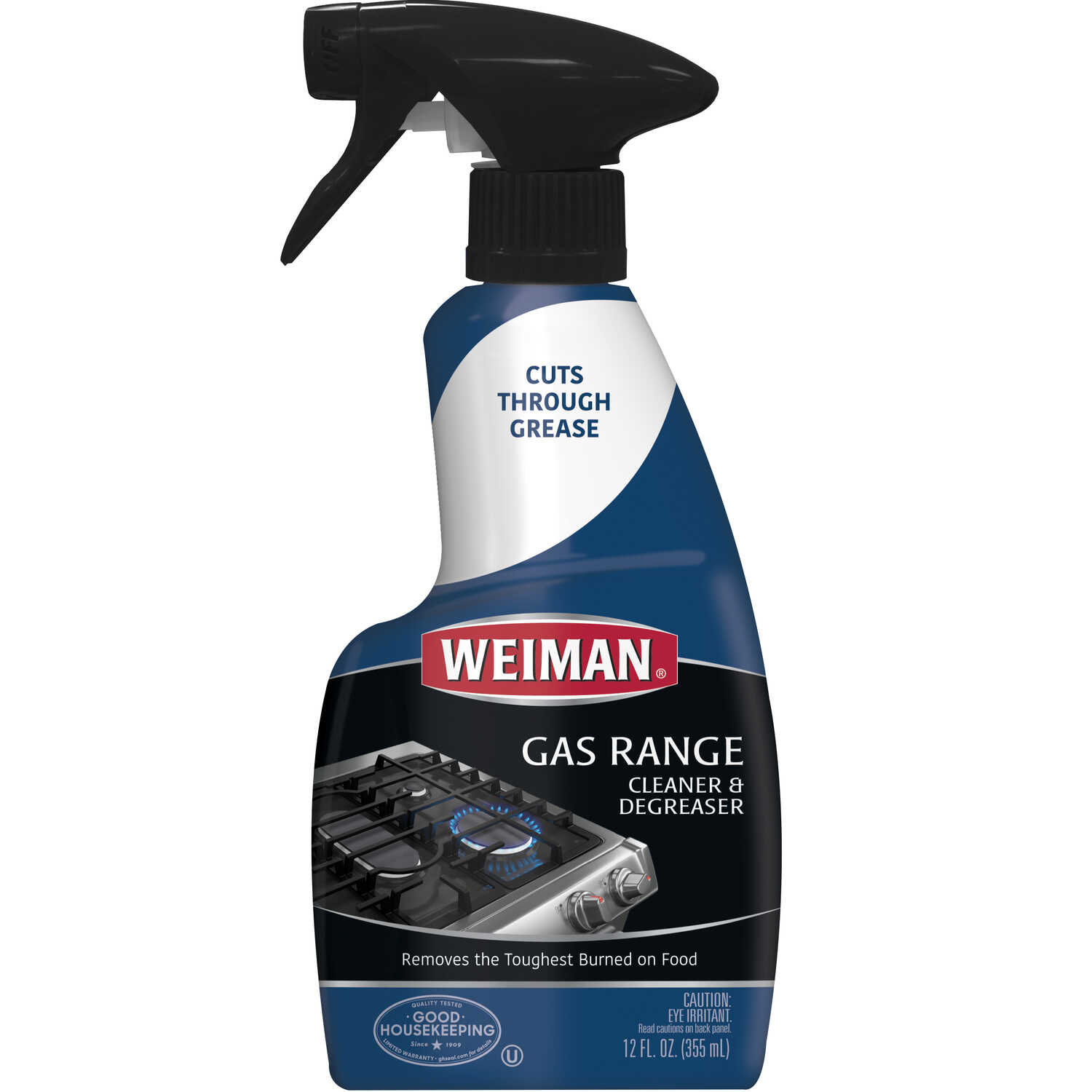 Weiman  Citrus Scent Gas Range Cleaner  12 oz  Spray