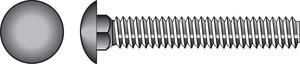 Hillman  3/8 in. Dia. x 2-1/2 in. L Zinc-Plated  Steel  Carriage Bolt  50 pk