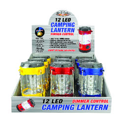 Blazing LEDz  Novelty Lighting  LED Lantern with Compass  Plastic  1 pk