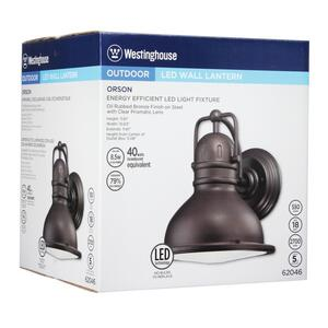 Westinghouse  Oil Rubbed Bronze  Switch  LED  Lantern Fixture