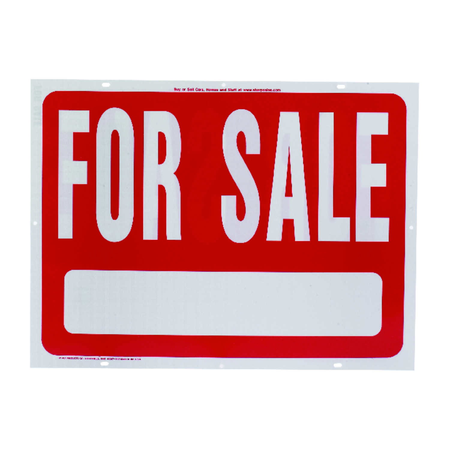 Hy-Ko  English  18 in. H x 24 in. W Sign  For Sale  Plastic